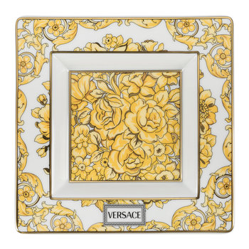 Medusa Rhapsody Border Decorative Dish - Gold