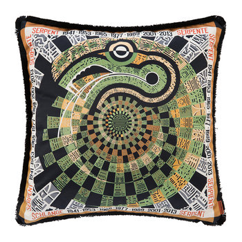 Oroscopo Reversible Cushion - 40x40cm - Snake