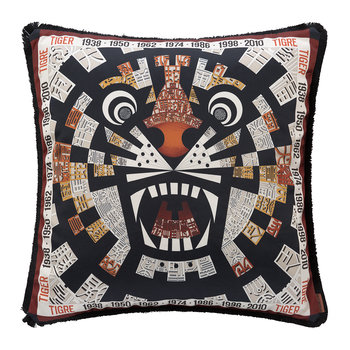 Oroscopo Reversible Cushion - 40x40cm - Tiger
