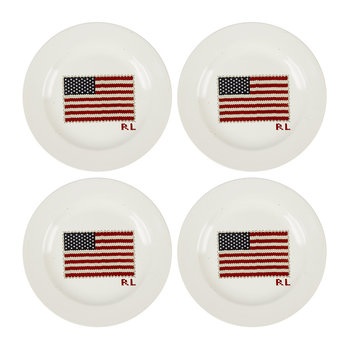 Bradfield Dessert Plates - Set of 4