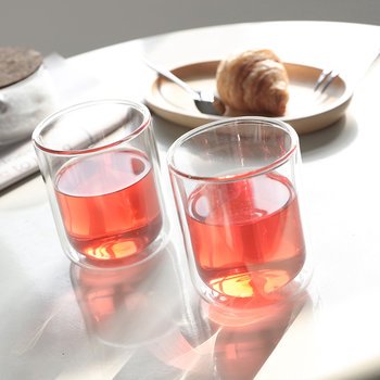 Double Walled Classic Glass Tumbler - Set of 2