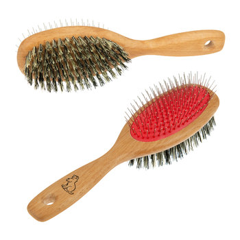 Dual Slicker & Bristle Brush