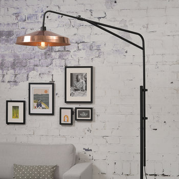 Brighton Floor Lamp - Copper