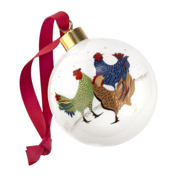 Three French Hens Bauble - Three French Hens