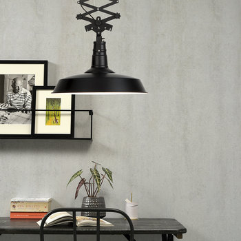 Vancouver Ceiling Lamp - Black