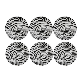 Zebrage Dessert Plate - Set of 6