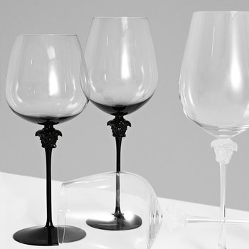 Medusa Lumiere Wine Glasses - Set of 2 - Clear