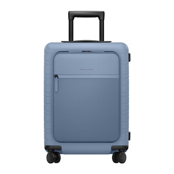 M5 Smart Hard Shell Cabin Suitcase - Blue Vega