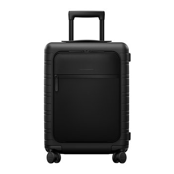 M5 Smart Hard Shell Cabin Suitcase - All Black