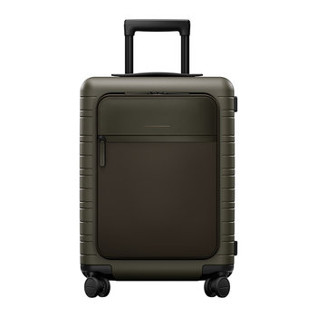 M5 Smart Hard Shell Cabin Suitcase - Dark Olive