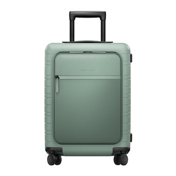M5 Smart Hard Shell Cabin Suitcase - Marine Green