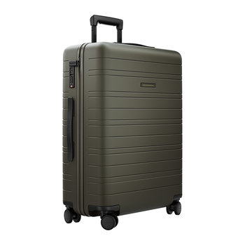 Smart Hard Shell Suitcase - Dark Olive