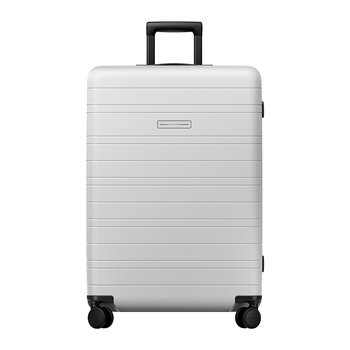 Smart Hard Shell Suitcase - Light Quartz Grey