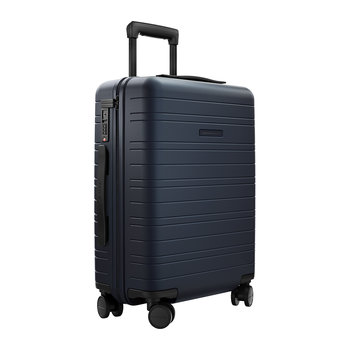 Smart Hard Shell Suitcase - Night Blue - Cabin