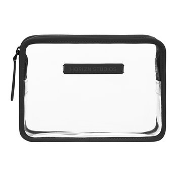 Transparent Wash Bag - Black