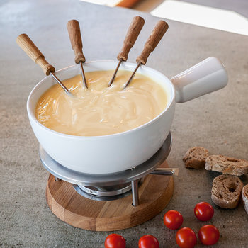 Candle Light Fondue Set