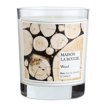 Wood Scented Candle
