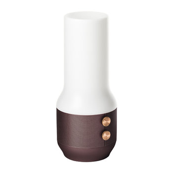 Terrace Lamp/Speaker/Portable Charger - Brown