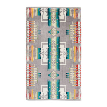 Iconic Jacquard Towel - Chief Joseph Grey