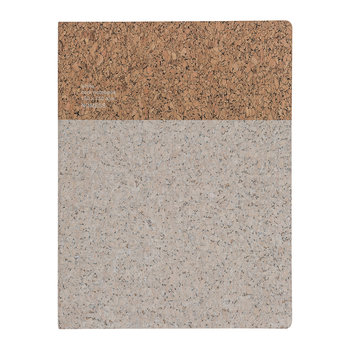 Cork Notebook - White
