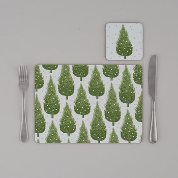 Christmas Tree Placemats - Set of 4