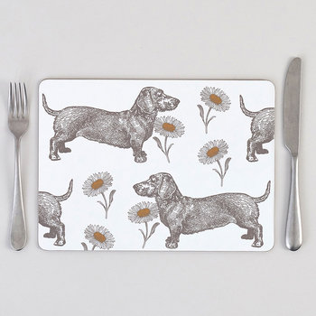 Dog & Daisy Placemat - Set of 4
