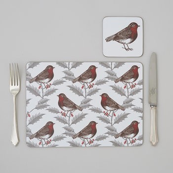 Robin & Holly Placemat - Set of 4