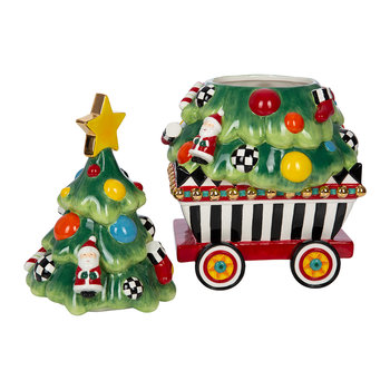 Christmas Train Cookie Jar