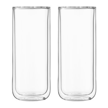 Double Walled Classic Water Glass - Set of 2
