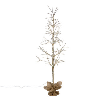 Light Up Twig Tree - Champagne Gold