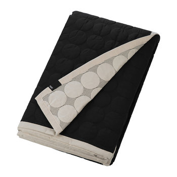 Mega Dot Throw - Black and Cream