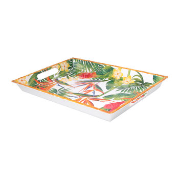 Exotic Flowers Tray