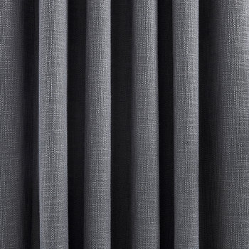 Madison Lined Curtains - Charcoal