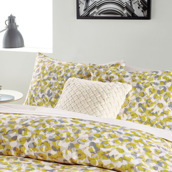 Wild Geo Standard Pillowcase - Ochre