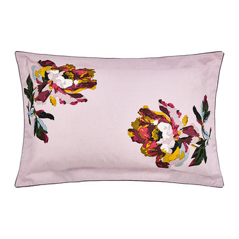 Heritage Peony Oxford Pillowcase - Lilac
