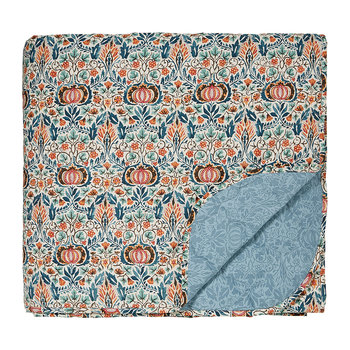 Little Chintz Quilted Throw - Teal
