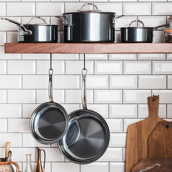 Stainless Steel Cookware Set - 10 Piece Set