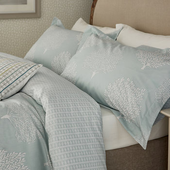 Coraline Oxford Pillowcase - Marine