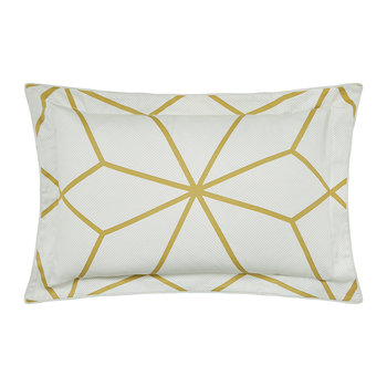 Axal Oxford Pillowcase - Ochre