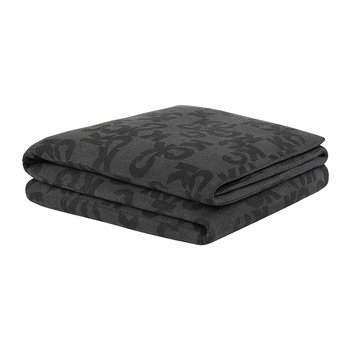 Monogram Logo Duvet Cover - Charcoal