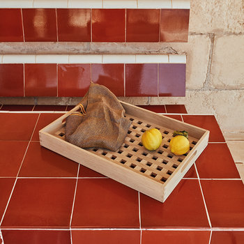 Fionia Tray - Oak