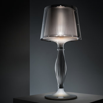 Liza Table Lamp - Pewter