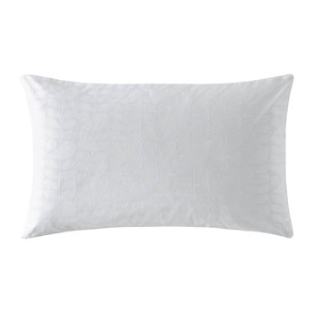 Ditsy Early Bird Pillowcases - Set of 2 - White