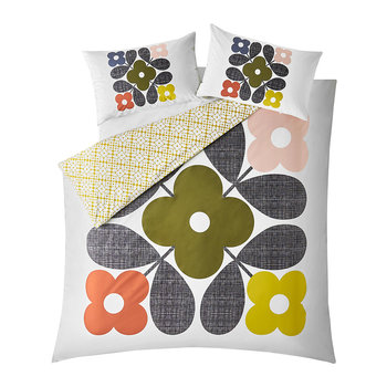 Flower Tile Duvet Cover - Multi