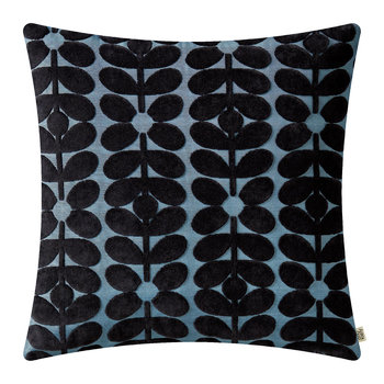 Sixties Stem Pillow - 50x50 - Dark Marine
