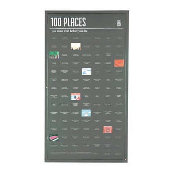 100 Must-Do Poster - 100 Places