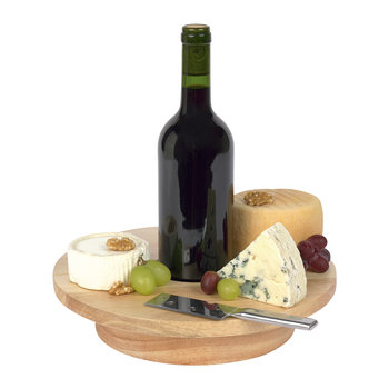 Cheese & Wine Serving Board Set