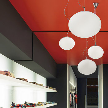 Eclipse Ceiling Light - White