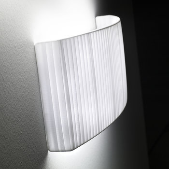 Wall Street Wall Light - White Ribbon