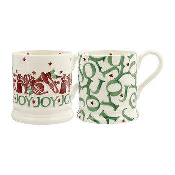 Tasse Joy Trumpets - Lot de deux